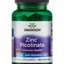 Swanson - Zinc Picolinat (Zinc picolinate) 22mg - 60 capsule
