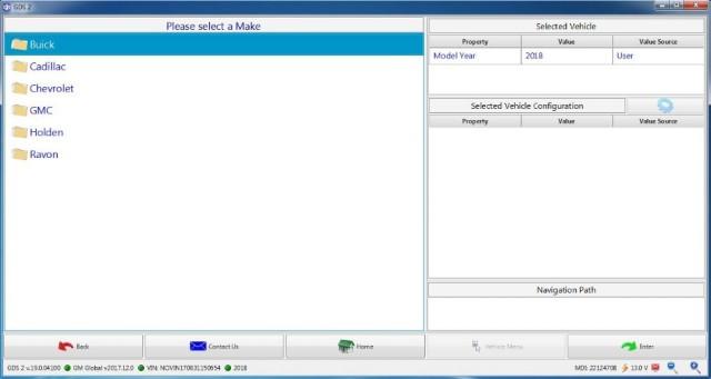 Interfata DIAGNOZA pentru GM/OPEL GDS2 MODEL VXDIAG VCX NANO