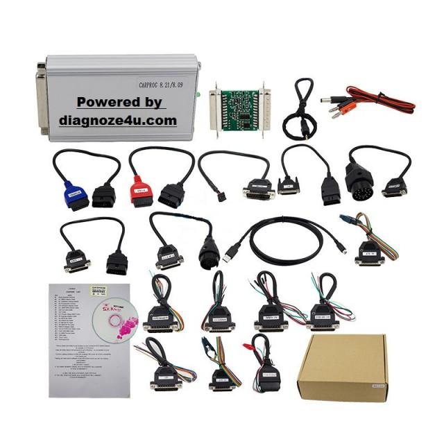 Programator Carprog V8 21 Online - citire cod radio Airbag reset, ECU Chip  Tunning