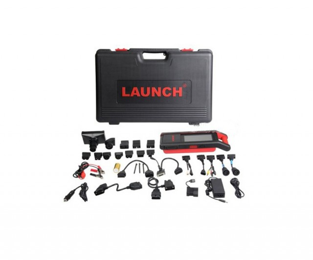 LAUNCH X431 Heavy Duty V2.0 Truck Diagnostic Module Work With Launch X431 V+ 1 Years Free Update Online supports 38 truck brands