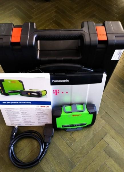 BOSCH KTS 560 tester auto diagnoza pentru autoturisme/utilitare mici
