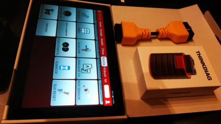 "Nou !! Kit Launch Thinkdiag 4.0 Pro Service cu Tableta Huawei 10"" 2/32 Gb"