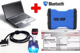 NOU !!! TCS KTS VD600 3IN1 + LAPTOP + WorkshopData  => Bluetooth Blue Version LIMBA ROMANA (Masini si Camioane) = Tester Profesional Auto Universal (WOW v.2016)