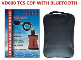 NOU !!! TCS KTS VD600 CDP+ PRO 2016 Bluetooth Red Version LIMBA ROMANA (Masini si Camioane) = Tester Profesional Auto Universal (WOW v.2016)