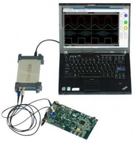 Osciloscop Hantek 6022BL PC USB 2 Digital Channels 20MHz Bandwidth 48MSa/s Sample Rate 16 Channels Logic Analyzer
