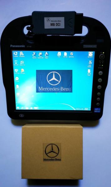 Tester auto Mercedes Mb Star Dci Light Xentry 2020 + Tableta Panasonic CF-H2 Touchscreen