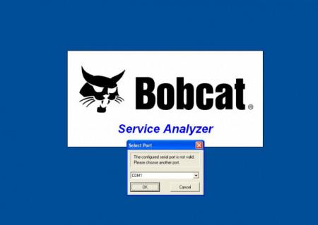 BOBCAT Interfata diagnoza - tester dedicat profesional, laptop inclus