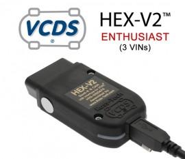 Interfata de diagnoza Vag Com Originala Ross-Tech Hex Can V2: VW-AUDI-SKODA-SEAT