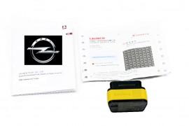 Interfata DIAGNOZA Opel pe Android, Diagnoza Opel Versiune Originala Easydiag Plus 2018