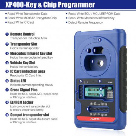 Tester auto Profesional Autel MaxiIM IM608 + APB112 Smart Key Simulator + G-BOX2 Adapter
