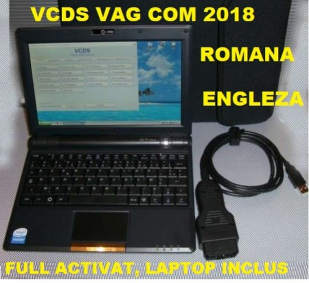 Tester auto profesional gama VAG in limba Romana up-date 2018 cu laptop VCDS full activat