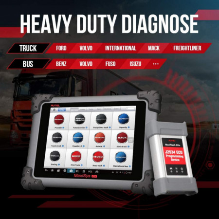 Autel Maxisys MS908CV 24V Tester Auto Multimarca pentru Camioane Original 100%