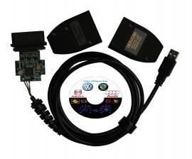 Cablu Interfata, Diagnoza Tester VAG COM 12.12, 17.8, 18.9, 19.6, 20.4, 20.12 cip FT232BL, procesor ATMEGA Vw Audi Skoda Seat - Oferta Promotionala ENGLEZA !