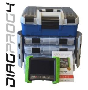 DiagProg 4 Package FULL Tester Profesional pentru Programarea imobilizatoarelor, cheilor, telecomenzilor, kilometrilor