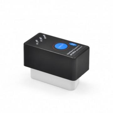 Elm327 Interfata Diagnoza Techstar Mini OBD2 Bluetooth cu buton ON/OFF Torque