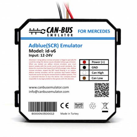 Emulator Adblue camion Mercedes Euro 6 Adblue (SCR) Emulator