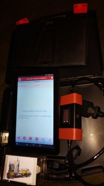 Kit Tester Diagnoza Auto Camioane / Tiruri Launch HD Light X431 12/24 Volti