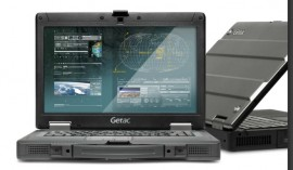 Laptop Militar GETAC S400 I5 Antisoc, Antipraf, Toughbook, Touchscreen Activ