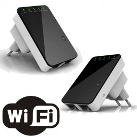 Mini Router wireless / Repetor amplificator semnal wi-fi Router model 2017