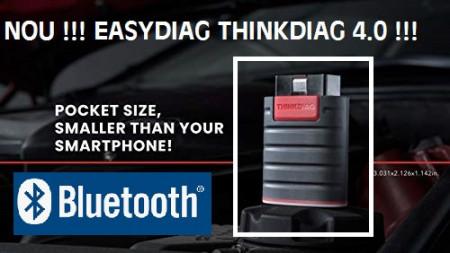 Poze Nou Easydiag THINKDIAG 4.0 Interfata diagnoza Auto model 2020 Tester Auto Diagnoza pentru Telefoane/Tablete
