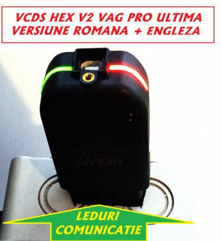 Nou !! VCDS/VAGCOM HEX V2 Interfata diagnoza Update 20.12, Ultima Versiune 2020 !