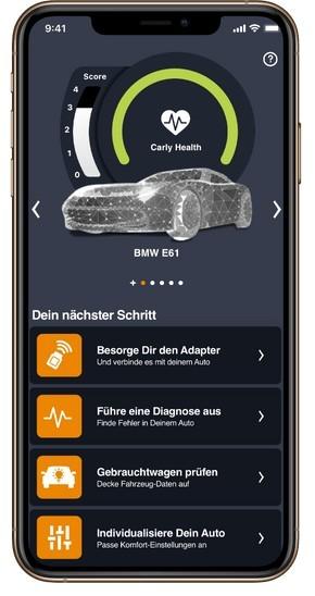 Noua interfata CARLY BMW diagnoza BT Android/Ios - Seria E-F-G diagnoza + codari