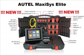 TOP AUTEL MaxiSys Elite Support J2534 ECU Programming Tester Auto Universal PROFESIONAL Original 100%