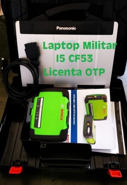 BOSCH KTS 590 tester auto diagnoza pentru autoturisme/utilitare mici