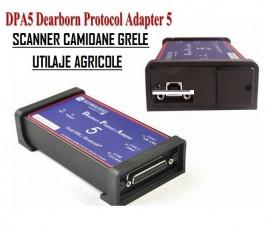 CNH DPA5 DPA 5 Pro 2015 pentru gama New Holland DPA5 Dearborn Portocol Adaptor 5 Camioane si Utilaje Grele Scanner fara Bluetooth