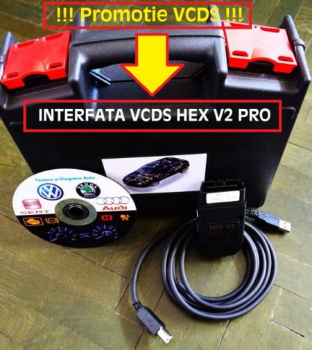 Poze Interfata VCDS/VAGCOM HEX V2 PRO Update versiune 19.6.X Romana + Engleza