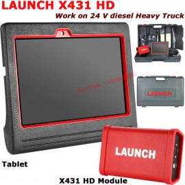 Poze Original Launch X431 V+ PRO3 Heavy Duty Truck Diagnostic Adapter (Tiruri, Camioane))