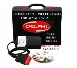 Promo ! Delphi DS150e Noul Vci Bluetooth 2016.10 + LAPTOP => Tester Multimarca in Limba Romana pentru Turisme & Camioane + Cutie Transport Delphi