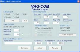 Cablu interfata VCDS diagnoza auto gama Vag 17.8 Limba Romana Full Chip Data 100%
