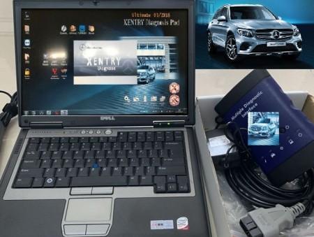 Poze Economic Kit Mercedes MB STAR LIGHT MDI Connect + Laptop Full Activat in Romana v2019