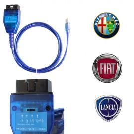 FIAT ECU SCAN OBD2 K-LINE FIAT interfata de diagnoza in Limba Romana