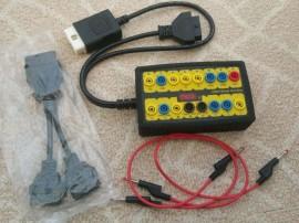 Interfata testare port diagnoza OBDII Protocol Detector, inlocuire baterie auto fara pierdere date