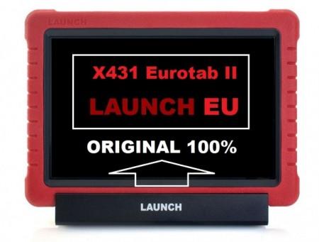 Launch X431 Eurotab II - Tester Original Launch, Versiunea Europa => PROMOTIE SERVICE-URI