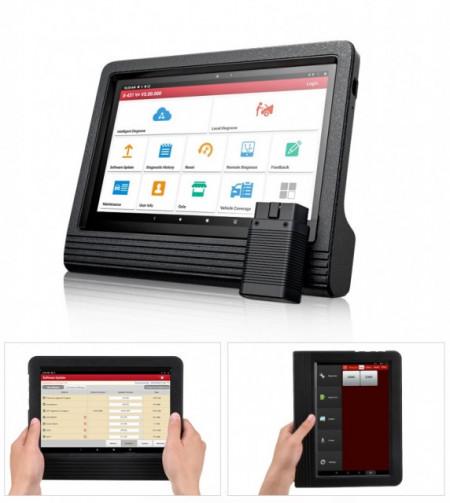 Promotie !! Noul Launch X431 V+ PRO4 PLUS V.2020 Wifi/Bluetooth Tableta Toughbook 10.1'' Tester Auto Profesional Service