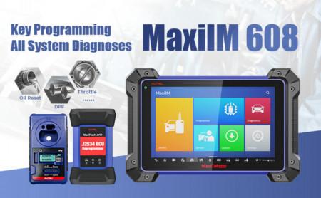 Tester auto Profesional Autel MaxiIM IM608 cu programator chei XP400 si  reprogramator ECU J2534 ECU fara