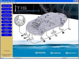 Poze Interfata diagnoza Toyota MINI VCI TIS Techstream J2534 OBD2