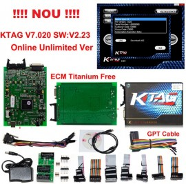 Ktag Tester profesional de chip tuning si programare auto Master K-tag HW 7.020 SW 2.23