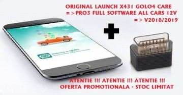 Poze Launch GOLO4 X-Diag PRO Android Bluetooth OBDII +Tableta Android 2018: Tester Auto Profesional Turisme