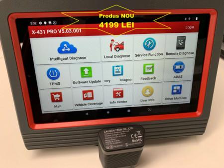Original Launch X431 PROS V4.0 Codare ECU, Programari, Functii Online, Update model nou !