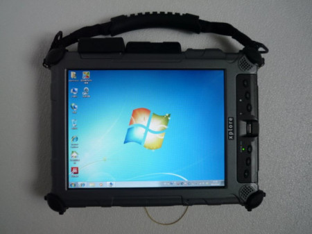 Tableta Militara Xplore iX104C5 I7 Antisoc, Antipraf, Toughbook, Touchscreen