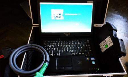 MAN Tester profesional Original pentru camioane Man Cats II T200 versiune 14.01 (Laptop Inclus, Developer Activ)