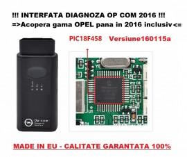 OpCom 2016 Interfata, Tester, Diagnoza Opel Versiune Noua 160115a