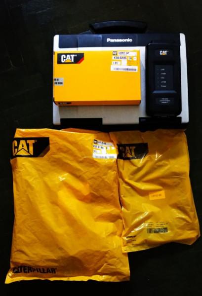 Diagnoza CAT3 OEM CATERPILLAR - Utilaje, Tractoare, Taf, Excavatoare - Aparat original dedicat, Laptop Panasonic militar inclus in pret