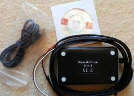 NOU Emulator 8in1 camioane vehicule grele ADblue 8 in 1 cu senzor NOx