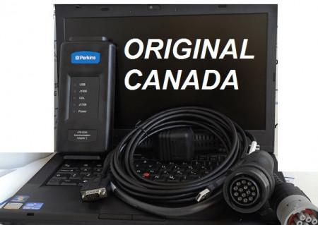 Tester auto profesional Perkins OEM laptop inclus - Utilaje, Tractoare, Taf, Excavatoare