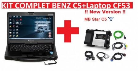 Poze Tester C5 Mercedes Benz MB STAR 2020 XENTRY SD Connect Compact + Laptop (LIMBA ROMANA) + Vediamo